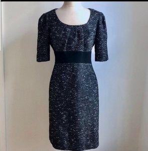 Tahari Arthur Levine Tweed Dress Size 10